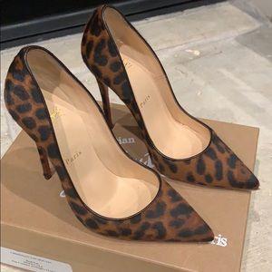 Christian Louboutin So Kate 120 leopard heel